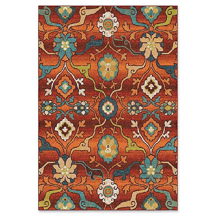 Orian Rugs Tibet Floral Multicolor Rug