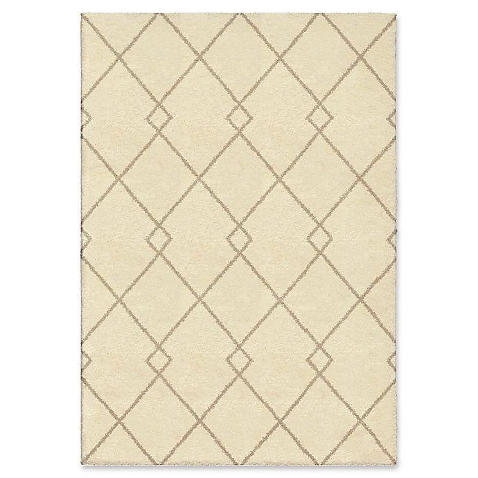 Alternate image 1 for Orian Rugs Crisscross 5'3 x 7'6 Area Rug in Ivory