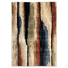 Orian Rugs Next Generation Abstract Cliff Woven Area Rug in Beige