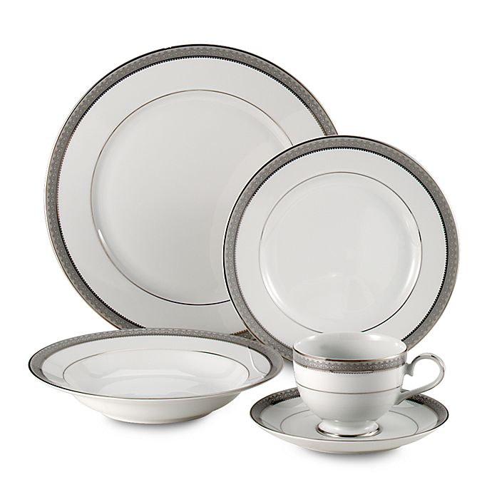 Alternate image 1 for Mikasa® Platinum Crown Dinnerware Collection