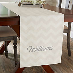 Home Patterns Personalized Table Runner