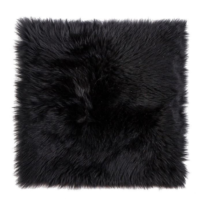 Alternate image 1 for New Zealand Sheepskin Chair Seat Cover