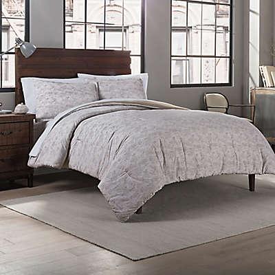 Garment Washed Printed Comforter Set