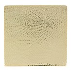 Thirstystone® Hammered Gold Finish Square Trivet