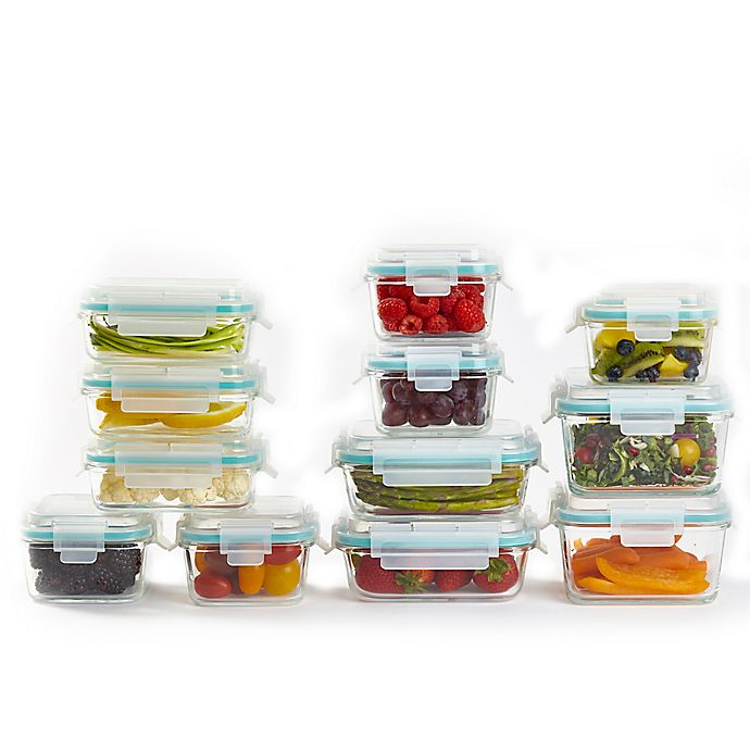 Alternate image 1 for ProGlass 24-Piece Food Storage Container and Lid Set