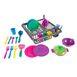 Hey! Play! Kids Play 27-Piece Dinnerware Set