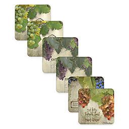 Pimpernel Tuscan Vineyard Coasters (Set of 6)