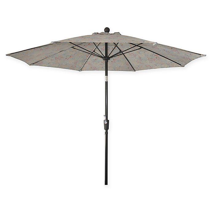 Alternate image 1 for Market 9-Foot Round Umbrella in Jacobean Mint
