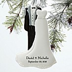 Bride & Groom Christmas Ornament