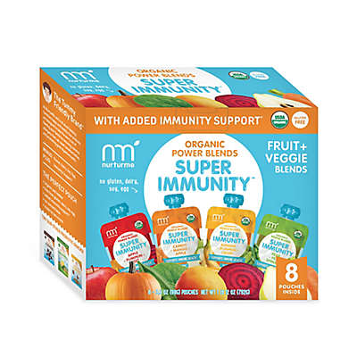 NurturMe 8-Pack Fruit and Veggie Meals