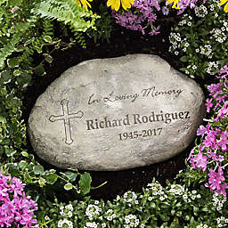 """In Loving Memory"" Large Garden Stone"