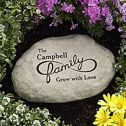 For Infinity...Personalized Garden Stone
