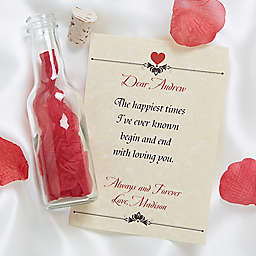 Love Letter in a Bottle