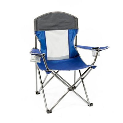 Mac Sports X Large Folding Chair In Blue Bed Bath And