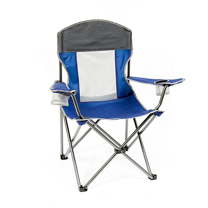 Alternate image 1 for Mac Sports X-Large Folding Chair in Blue