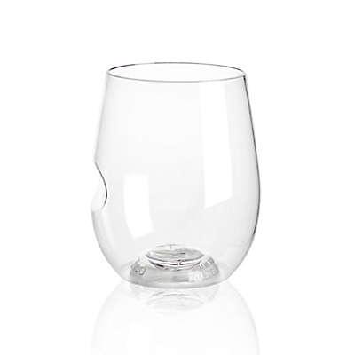 Govino® Stemless 12 oz. Wine Glasses in Clear (Set of 4)