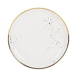 Olivia & Oliver™ Harper Splatter Organic Shape Gold Dinner Plate