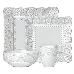 Lenox® French Carved™ Square Dinnerware Collection
