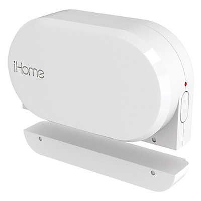 iHome® Wi-Fi Battery Powered Door and Window Sensor in White