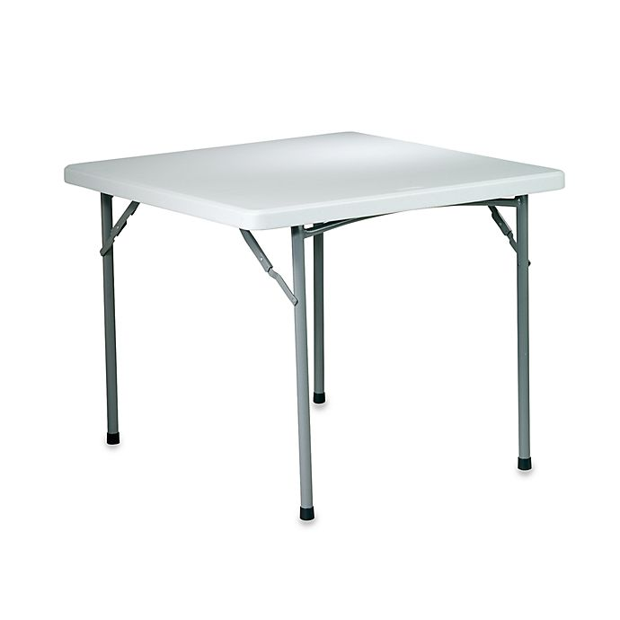 36 Inch Square Kitchen Table: Resin Folding 36-Inch Square Table