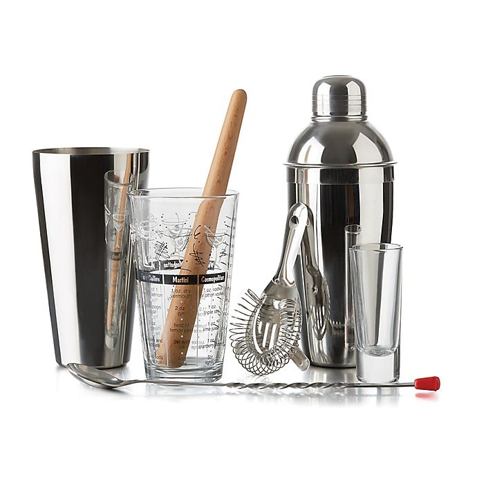 Alternate image 1 for Libbey® Glass 9-Piece Mixologist Set