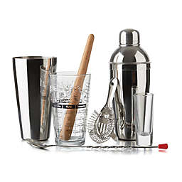 Libbey® Glass 9-Piece Mixologist Set