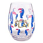 Formations Stemless Wine Glass in Toucan