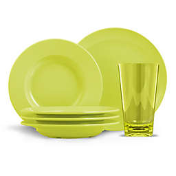 ThermoServe Cadence 12-Piece Melamine Bistro Dinnerware Set