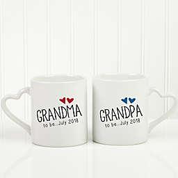 Grandparent Established 2-Piece Mug Set