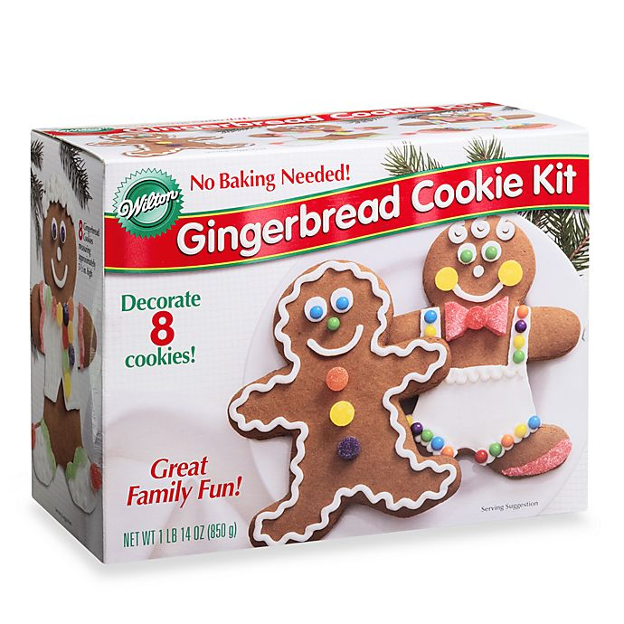 Wilton Gingerbread Cookie Kit Bed Bath Beyond