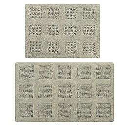 Square Honeycomb Bath Mat