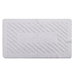 Perthshire Diagonal Racetrack Reversible Bath Rug