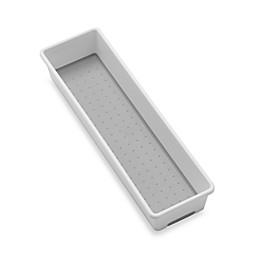 madesmart® 3-Inch x 12-Inch Drawer Organizer in White/Grey
