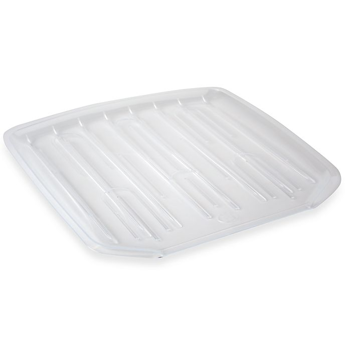 Salt Small Drain Board In Clear Bed Bath And Beyond Canada