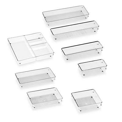 iDesign® Linus Acrylic Drawer Organizers