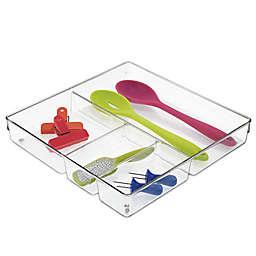 iDesign® Linus Acrylic 12-Inch x 12-Inch Junk Drawer Organizer