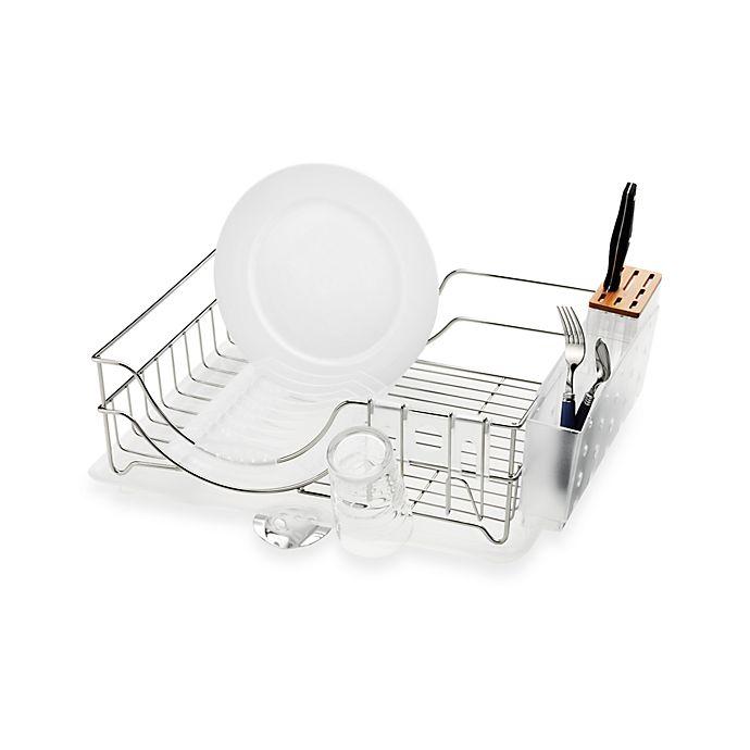 Simplehuman 174 Dish Rack System Bed Bath Amp Beyond