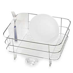 simplehuman® Compact Stainless Steel Dish Rack