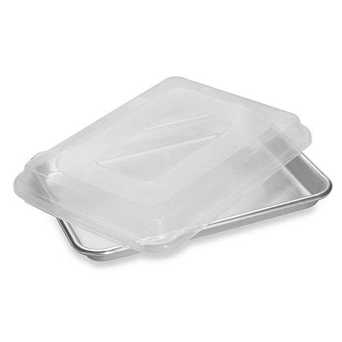 Alternate image 1 for Nordic Ware® Quarter Sheet Pan with Lid
