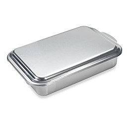 Nordic Ware® Aluminum 9-Inch x 13-Inch Cake Pan with Metal Lid