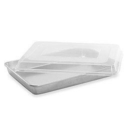 Nordic Ware® 18 1/2-Inch x 13 1/2-Inch Aluminum Cake Pan with Lid