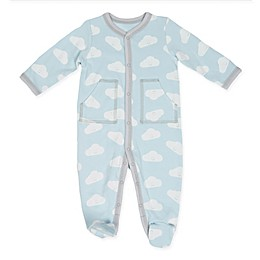 Sterling Baby Cloud Footie in Blue