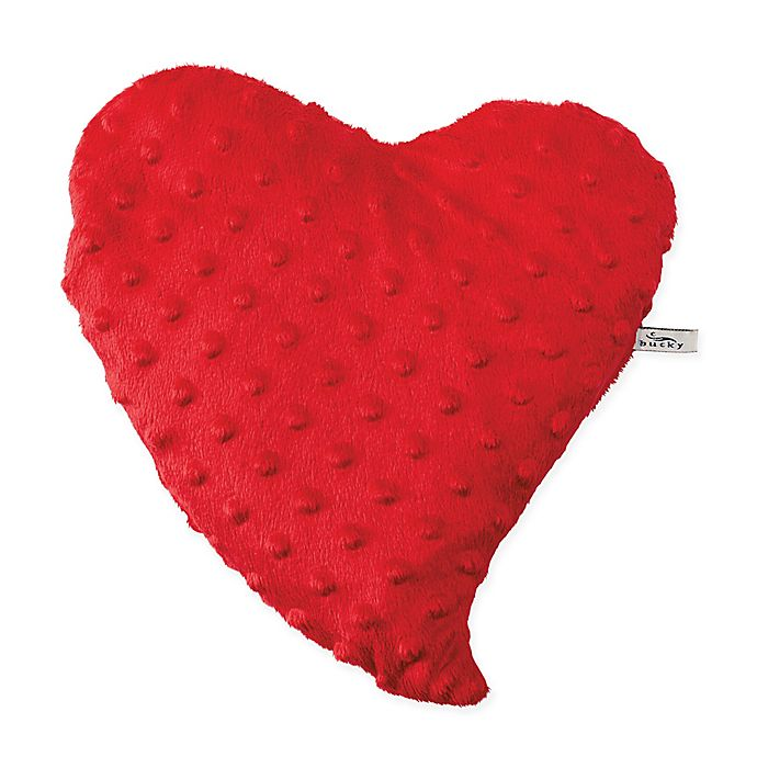Alternate image 1 for Bucky Spa Hot & Cold Therapy Heartwarmer Bed Pillow in Red