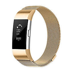 Stainless Steel Milanese Loop Band for Fitbit Charge 2