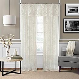 Montego Window Curtain Panel and Valance