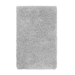 Vista Living Claudia 2'6 x 4' Washable Shag Accent Rug in Silver