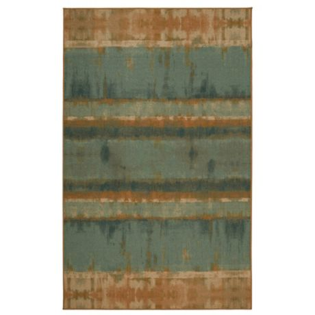 Mohawk Home Heirloom Painterly Stripe Area Rug In