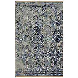 Mohawk Home Paisley Jane Area Rug in Blue
