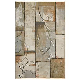 Mohawk Home Patchwork Vines Multicolor Area Rug