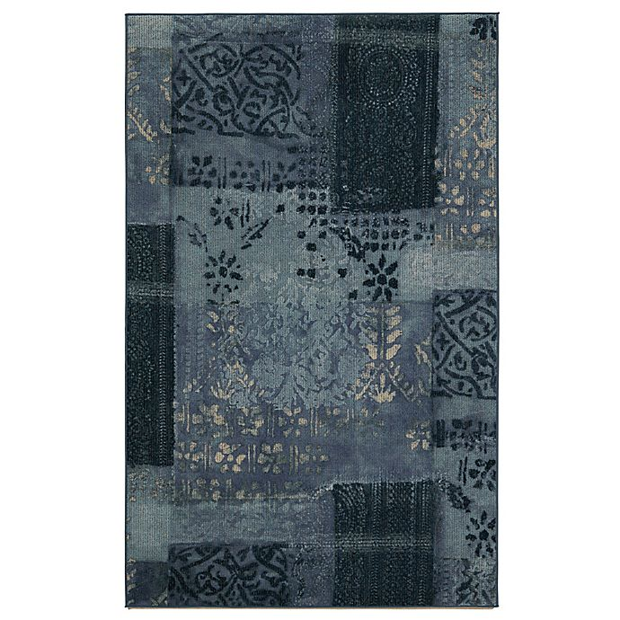 Alternate image 1 for Mohawk Home® Alhambra Printed Rug in Blue